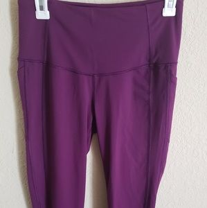 Victoria's Secret VSX sport Knockout Tights Sz M